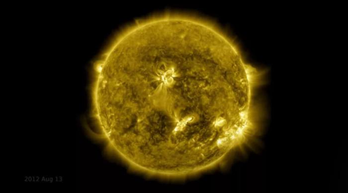 NASA新研究发现日震起源可能潜伏在太阳表面之下