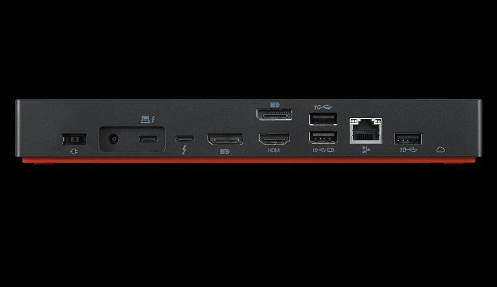 联想发布新款雷电4扩展坞 可以连接单个8K显示器