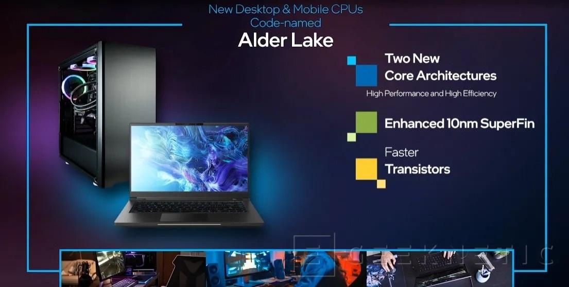 英特尔Alder Lake-S处理器将采用增强型10nm SuperFin工艺