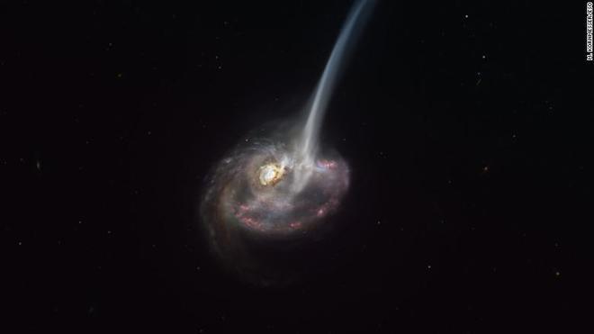英法天文学家首次亲眼见证ID2299星系消亡场景