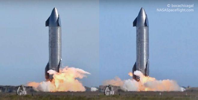 首次!  SpaceX一天内对其星际飞船原型进行三次静态点火测试