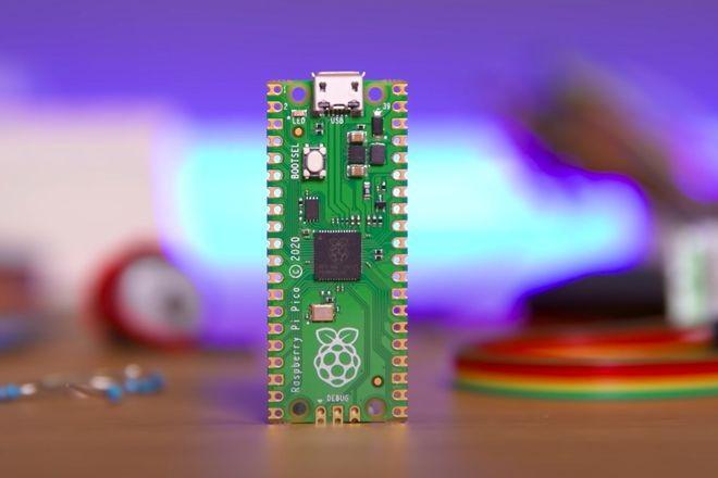 微控制器开发板树莓派Pi Pico发布 售价仅4美元