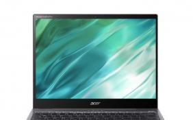宏碁Spin5翻转屏笔记本电脑开启预售 搭载英特尔11代i5处理器