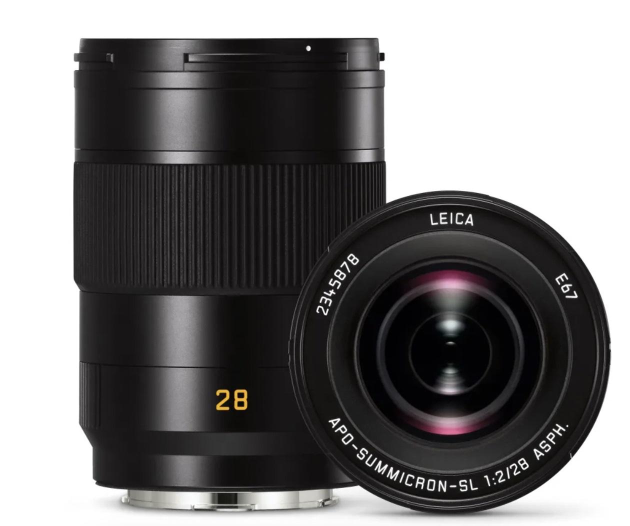 徕卡发布APO-Summicron-SL 28 f/2 ASPH.镜头 基于L卡口标准