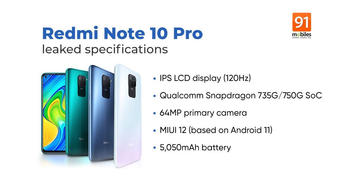 Redmi Note 10将采用高通处理器 提供两种RAM和存储版本