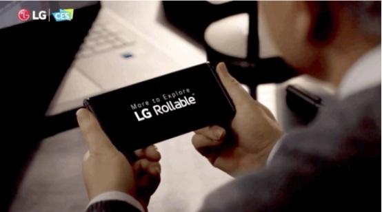 LG发言人:卷轴屏手机LG Rollable计划还没有被搁置