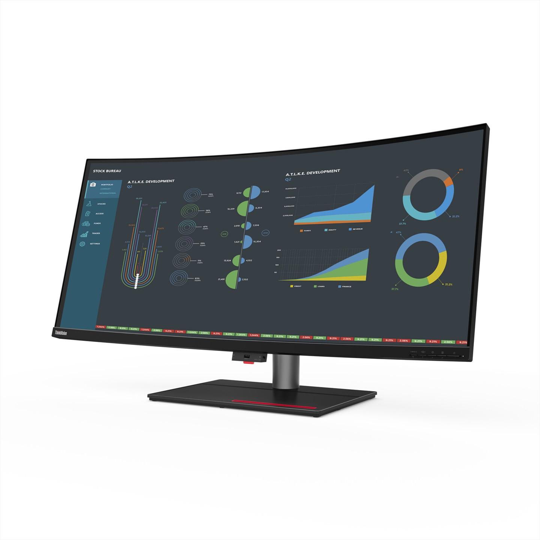联想发布ThinkVision P40w显示器 面板可显示10位色深