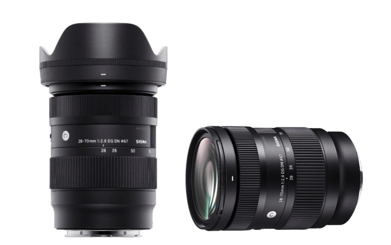 更小、更轻!适马发布28-70mm F2.8 DG DN镜头