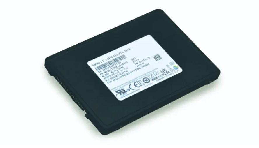 三星推出高性能固态硬盘PM9A3 U.2 能效比提高61%