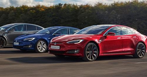 特斯拉电动汽车在欧洲关键市场交付量同比下滑