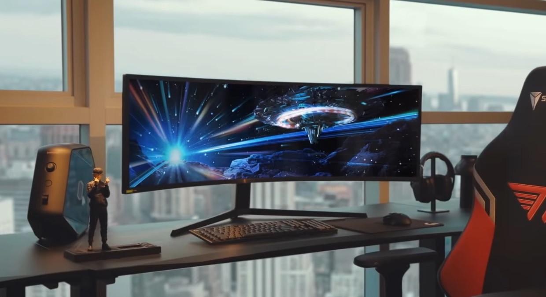 三星Odyssey G9显示器将升级至Mini LED屏
