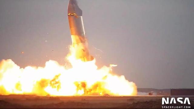 科普:SpaceX星际飞船原型为什么会爆炸