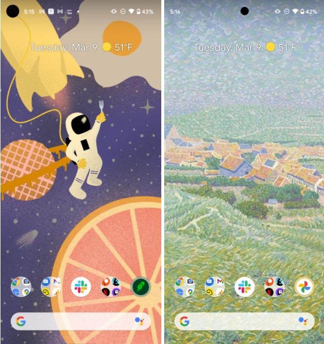 谷歌Pixel6手机前置摄像头将能够录制4K自拍视频