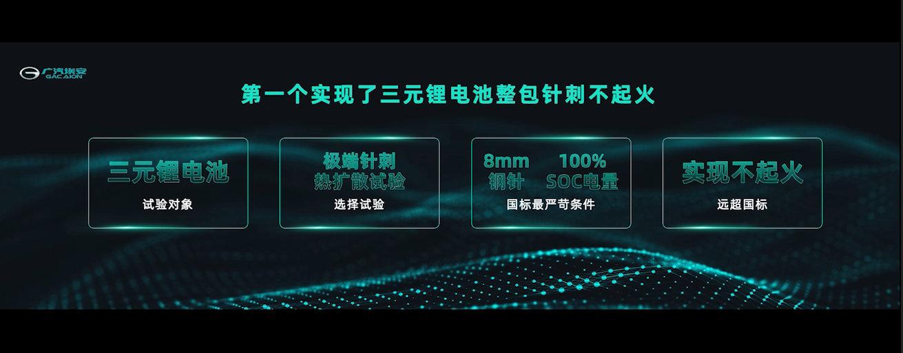 """广汽发布新一代动力电池安全技术""""弹匣电池""""系统技术"""