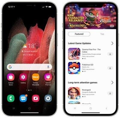 """三星推出""""iTest""""  iPhone用户可体验Galaxy设备上的Android系统"""