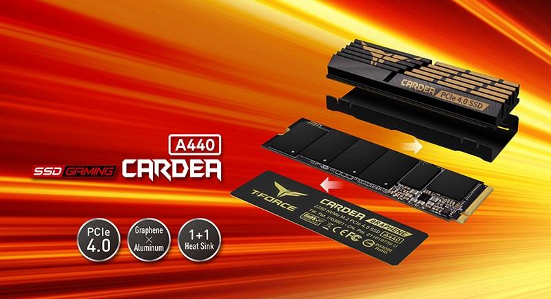 十铨科技推出黑曜女神PCIe4.0 SSD 读写速度高达7000/6900MB/s