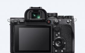 索尼海外发布A7R3A、A7R4A微单相机 LCD显示屏升级至236万点