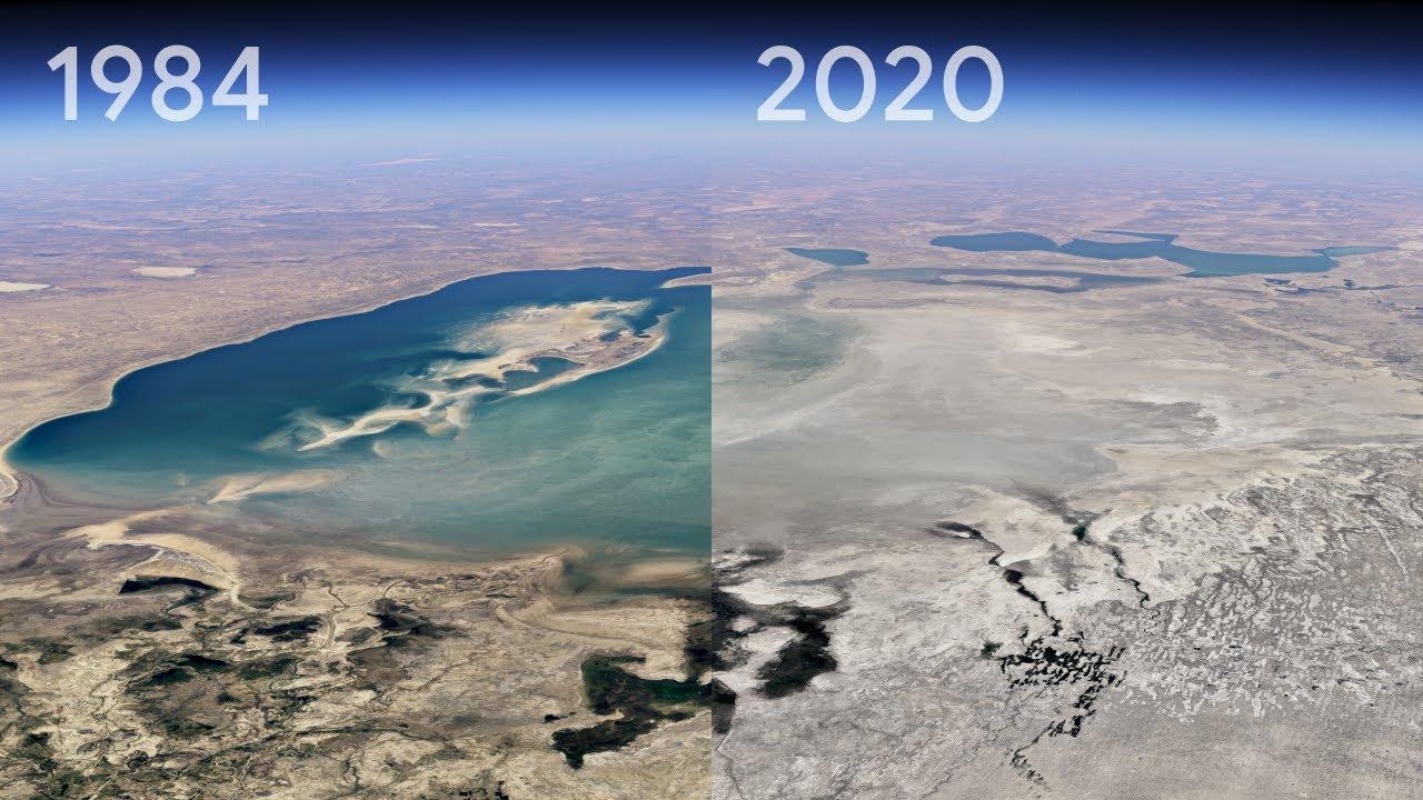 谷歌地球添加3D Timelapse时间推移功能 可见证近40年的地球变化