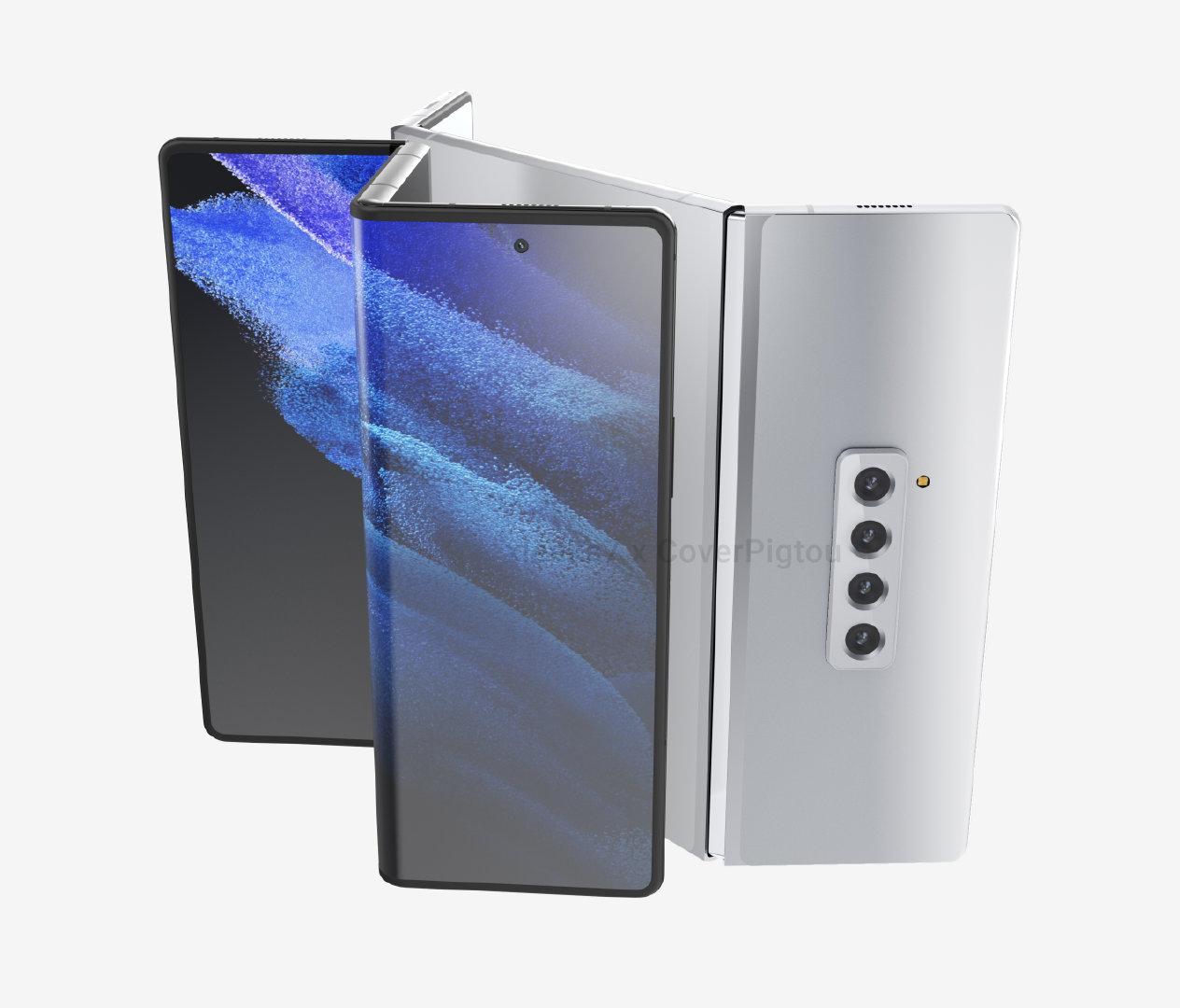 三星三折机型Galaxy Z Fold Tab将于Q1发布 采用更好的UTG