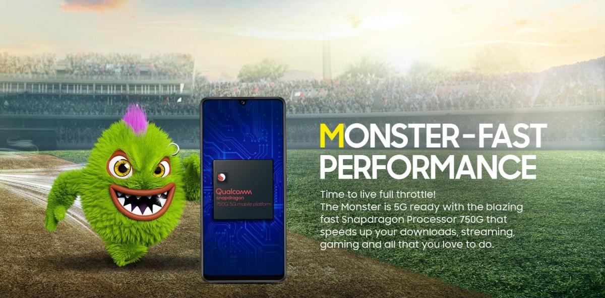 三星Galaxy M42 5G手机将搭载骁龙750G 采用8nm制程工艺