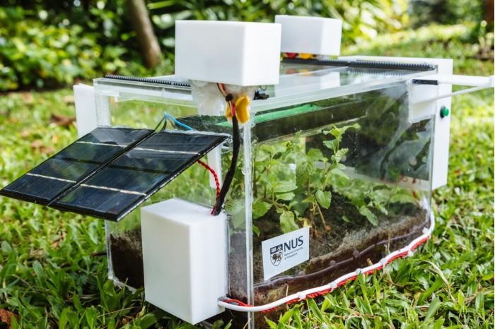 NSU研究团队展示SmartFram系统 可捕捉空气中水分