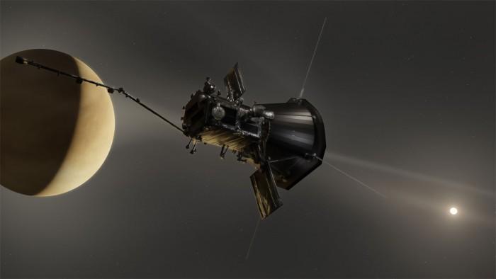 帕克太阳探测器拍摄到围绕金星的尘埃环首个完整图像