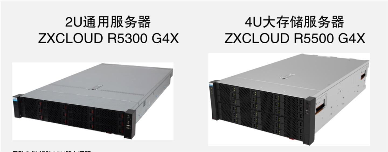 中兴通讯发布中兴G4X服务器 双路最大支持80核