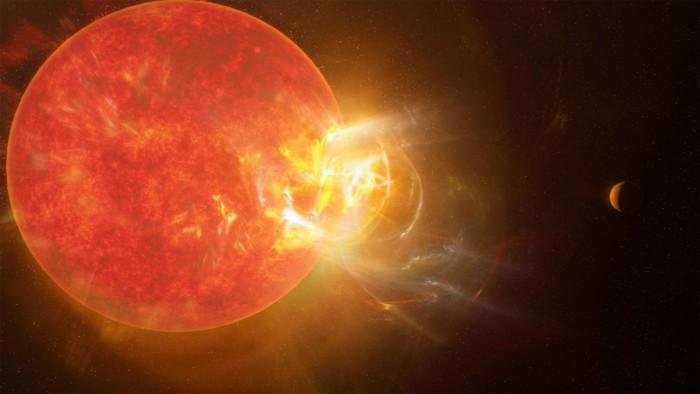 科学家发现比邻星有史以来最大的太阳耀斑