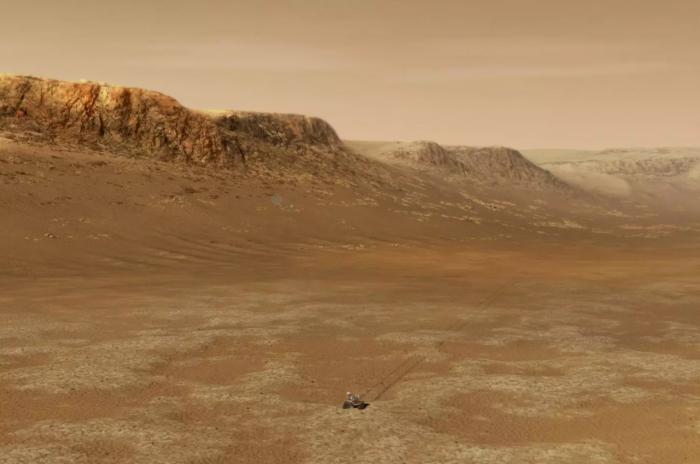 高空冰云可通过温室效应使火星变暖使古代火星拥有河流和湖泊