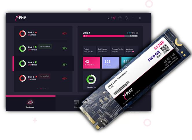 Flexxon推出固态硬盘X-Phy 内置AI安全防护功能