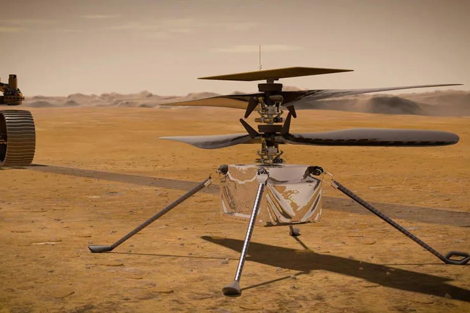 "Ingenuity与""毅力号""探测器使用900MHz Zigbee无线电通信"