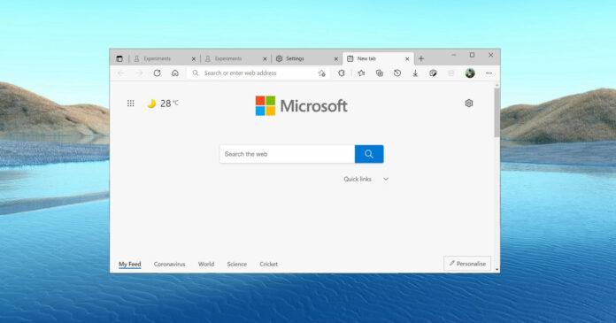 微软Edge浏览器原版字体渲染将回归 可调整字体对比度和伽玛设置