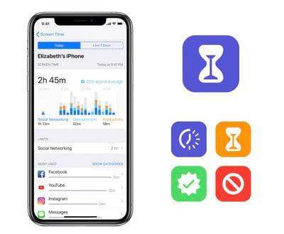 苹果向第三方开发者开放屏幕时间API 家长监控将可精细到各个App
