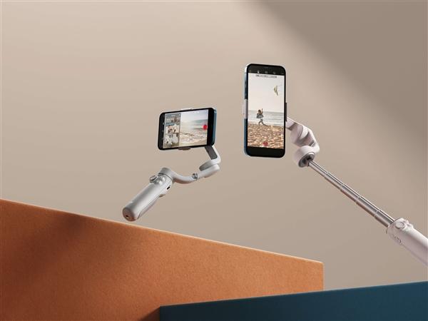 大疆新一代手机云台OM 5发布 内置215毫米延长杆
